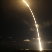 SpaceX rocket on a mission to the ISS - with ice cream included