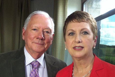 Former president Mary McAleese makes one of her first broadcast appearances since leaving office with Gay Byrne on 'The Meaning of Life' tonight.