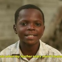 Ad of the year? Haitians reading #FirstWorldProblems tweets