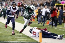 VIDEO: Jets score on 100-yard kick-off return, still lose to Texans