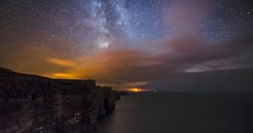 Photo: Cliffs of Moher, meet the Milky Way