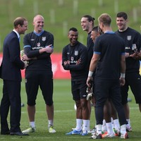 William, Kate see new FA centre - and Ashley Cole