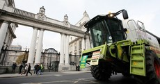 PHOTOS: Farmers take to Dublin to oppose possible EU cuts