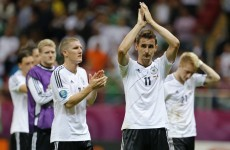 Loew backing Klose and Schweinsteiger to marshal away win