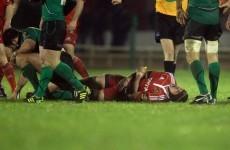 Alan Quinlan facing lay-off after Connacht injury