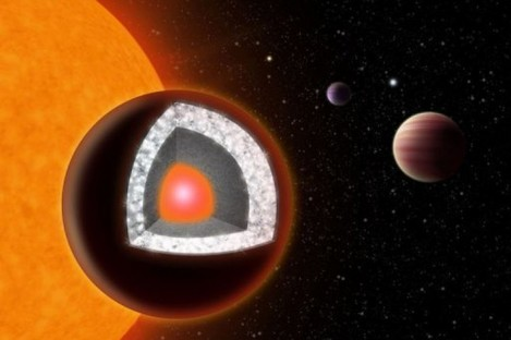 An artist's rendition of the planet released by Yale University
