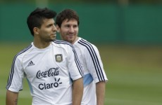 VIDEO: Sergio Aguero on the first time he met Lionel Messi