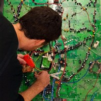 Pictures: Map of Dublin made from circuit boards