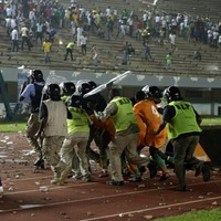 Africa Cup of Nations match abandoned after fans riot
