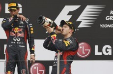 Formula One: Vettel wins in Korea to usurp Alonso