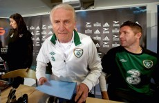 Infographic: here's how Trap's record compares with past Ireland managers'