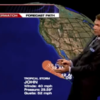 VIDEO: Weatherman's hand gestures are accidentally very suggestive