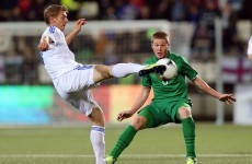Faroes v Ireland: That one's for Trap, says James McCarthy