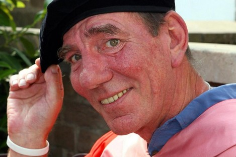 Pete Postlethwaite, seen in 2007 receiving an honorary degree. He died yesterday at the age of 64.