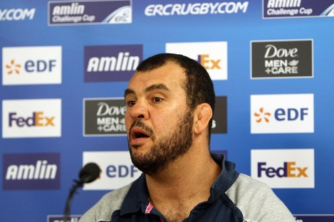 Michael Cheika was unwilling to confirm whether his side would attempt to sign Brian O'Driscoll.