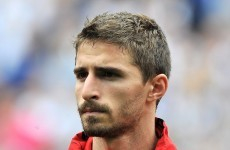 Setback: Liverpool's Borini out for three months