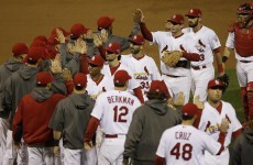 Cardinals down Giants to seize series lead