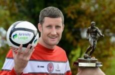 Sligo's McGuinness named player of the month