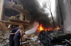 Two killed as large explosion rattles Beirut
