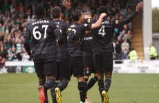 Wanyama on the double as Celtic thrash St Mirren