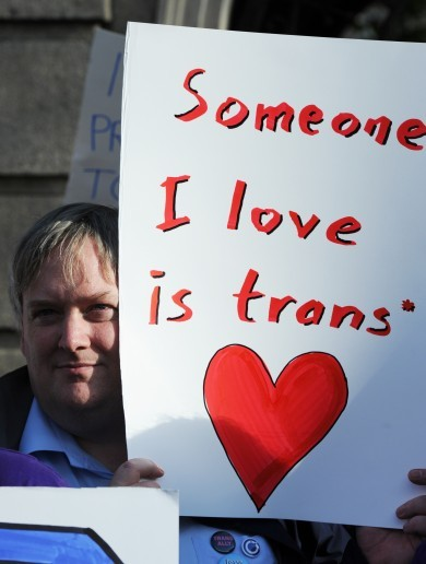 GALLERY: Ireland's first ever public rally for transgender rights