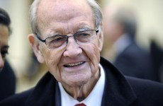 Former US presidential candidate George McGovern dies