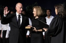 Jerry Brown sworn in as governor of California