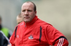 Counihan finalises Cork management setup