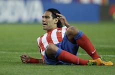 VIDEO: Falcao strike keeps Atletico level with Barca