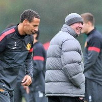 Ferdinand returns to Mancester United training after T-shirt spat