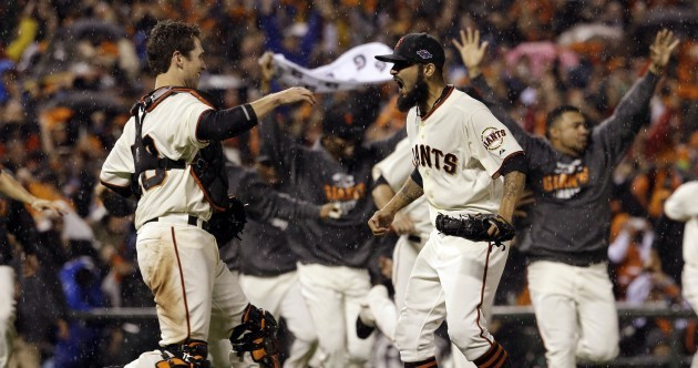 Baseball: Giants oust reigning champs to reach World Series
