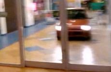 VIDEO: Driving a car around the supermarket