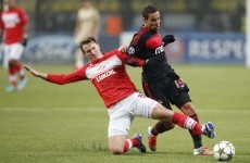 Spartak get first win of Champions League campaign