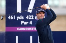Padraig Harrington grabs lead at PGA Grand Slam
