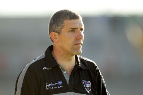 Sligo manager Kevin Walsh