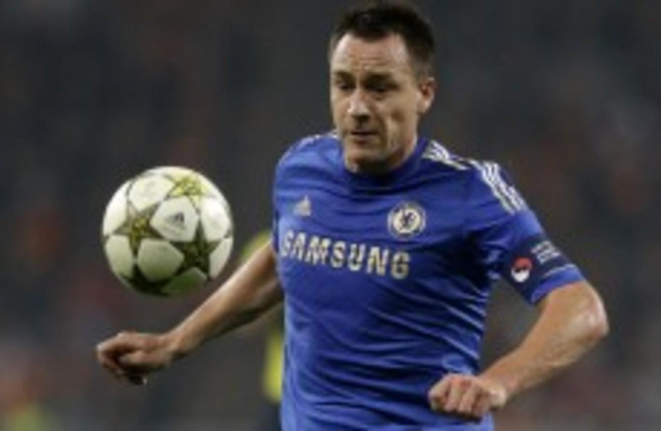 La Liga or bust? Valencia to offer Terry a Spanish lifeline
