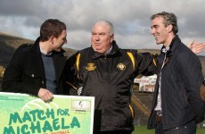 Jim McGuinness names strong Donegal side to compete in Match for Michaela
