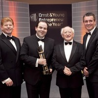 Edmond Harty named as Ernst & Young Entrepreneur of the Year