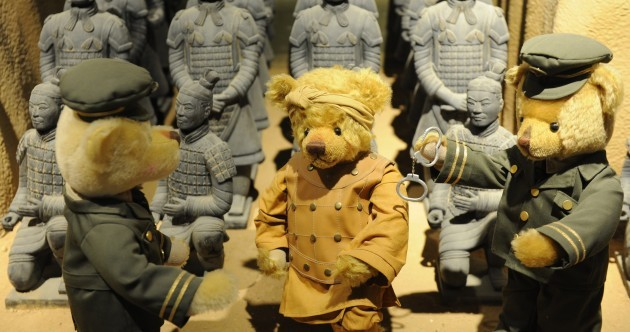 In pics: What does a teddy bear museum in China look like?