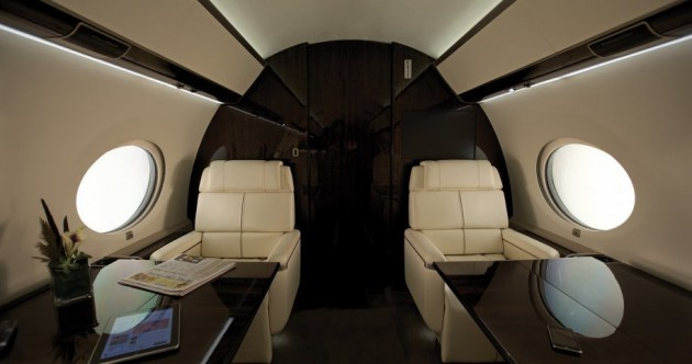 Tour the Gulfstream G650 - it only costs €50m
