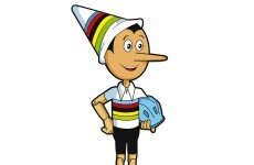 You couldn't make it up - Pinocchio is the mascot for next year's cycling World Championships