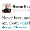 Tweet Sweeper: Ronan Keating is really, really excited