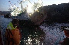 Eleven rescued as fishing vessel grounded off Cork coast