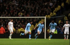 As it happened: Manchester City v Swansea, Premier League