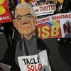Italy protesters stage anti-austerity 'No Monti Day'