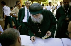 Egypt's Coptic Christians vote to elect new Pope