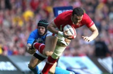 Jamie Roberts closes in on return with Wales