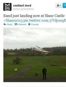 Are Bon Jovi in this helicopter?