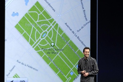 Scott Forstall, who had been Apple's SVP of iOS Software.