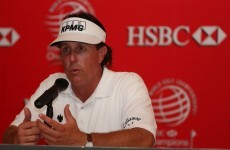 Mickelson aims to bury Ryder Cup misery